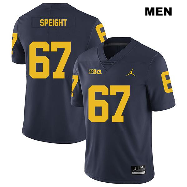 Mens no. 67 Stitched Michigan Wolverines Legend Navy Jess Speight Jordan Authentic College Football Jersey - Jess Speight Jersey